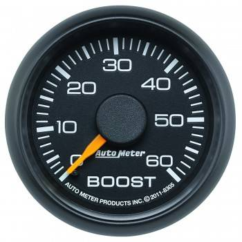 "Auto Meter Gauges - 2-1/16"" Boost - 0-60 PSI - Mech - CHEVY / GMC"