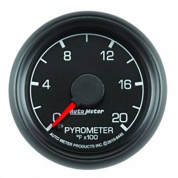 """Auto Meter Gauges - 2-1/16"""" Pyrometer Kit - 0-2000 Deg - FSE - FORD"""