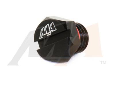 Merchant Automotive - Fuel Filter Aluminum Head Bleeder Screw - 2001-2010 Duramax 6.6L