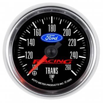 "Auto Meter Gauges - 2-1/16"" Transmission Temp - 100-260 Deg - FSE - FORD RACING"