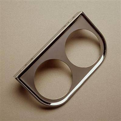 Isspro Gauges - ISSPRO 2 Hole Mounting Bracket - Universal (Chrome)