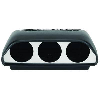 """Auto Meter Gauges - Auto Meter - Triple 2 1/16"""" Gauge Dash Pod - Universal"""