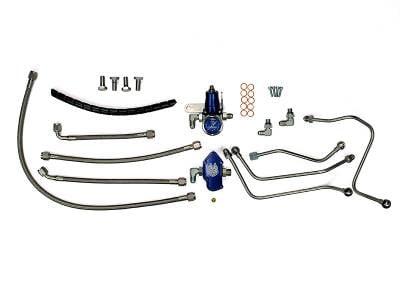 Sinister Diesel - Sinister Diesel - Regulated Fuel Return Kit - 03-07 Ford 6.0L Power Stroke
