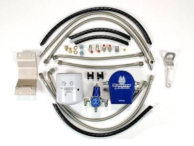 Sinister Diesel - Sinister Diesel - Regulated Fuel Return Kit - 99-03 Ford 7.3L F250/F350