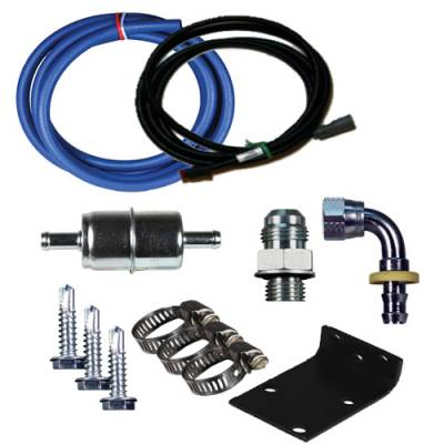 FASS Fuel Air Separation Systems - FASS - 1998.5-2002 Dodge Cummins Replacement Pump (DRP02) Relocation Kit