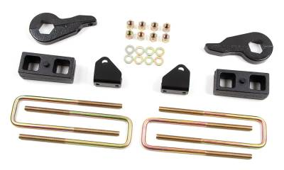 """Zone Offroad Products - 2"""" Lift Kit - 2001-10 Chevy/GMC 2500/3500 2500HD/3500HD 4WD (C1212)"""