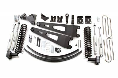 """Zone Offroad Products - 6"""" Radius Arm Suspension System - 08-10 Ford F250/F350 With Factory Top Overloads"""