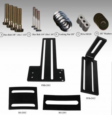 FASS Fuel Air Separation Systems - Titanium Bracket Kit - 1994-2012 Dodge - 2001-2012 GM