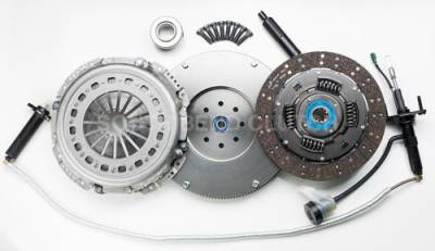 South Bend Clutch - South Bend Clutch 475HP Single Disc (w/ Flywheel & Hydraulics) - 2005.5-2018 Dodge 5.9L 6.7L Cummins