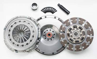 South Bend Clutch - South Bend Clutch 425HP HD Clutch Kit (with Flywheel) - 07.5-10 Ford 6.4L 6-SP