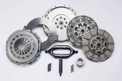 South Bend Clutch - South Bend Clutch G56 650HP Dual Disc Clutch Kit (With Flywheel NO hydraulics) - 2005.5-2018 Dodge 5.9L 6.7L with G56