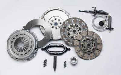 South Bend Clutch - South Bend Clutch 650HP Dual Disc Clutch Kit (With Flywheel & hydraulics) - 2005.5-2018 Dodge 5.9L 6.7L Cummins with G56