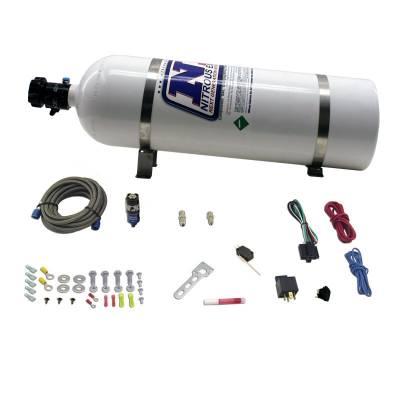 Nitrous Express - NX Diesel Dry Nitrous System - 15LB Bottle - 50HP