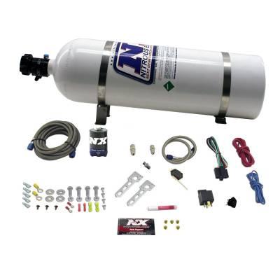 Nitrous Express - NX Diesel Stacker 2 with .093 Nitrous Solenoid - 15LB Bottle - 150HP