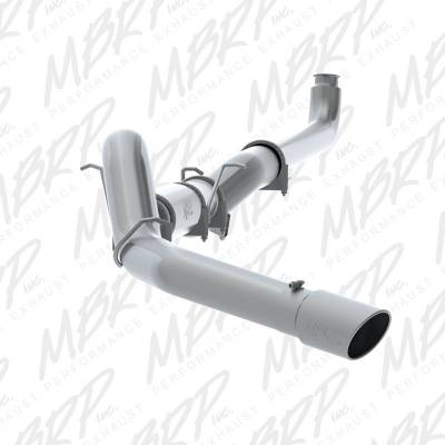 "MBRP Exhaust - MBRP - 5"" Stainless DP Back Off-Road Exhaust - 01-07 Duramax 6.6L"