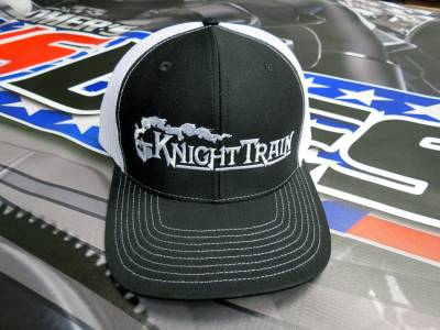 Performance Diesel Parts - Knight Train Cap - Black and White