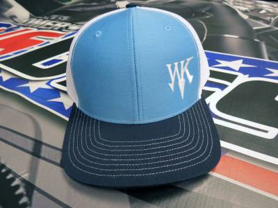 Performance Diesel Parts - White Knight WK Cap - Black / Blue / White