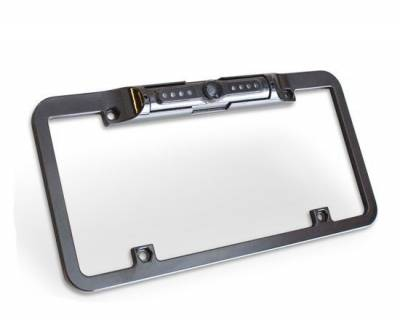 Edge Accessories - Edge License Plate Mount Back Up Camera for CTS & CTS2