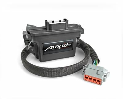 Superchips - Amp'd Throttle Booster - 2001-2005 GM 6.6L LB7/LLY Duramax