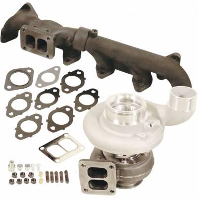 BD Diesel Performance - Iron Horn 6.7L Cummins Turbo Kit S363SXE/80 0.91AR Dodge 2007.5-2018