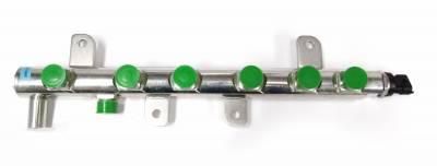 Bosch Diesel Parts - Fuel Rail Distributor Tube With Sensor - 07.5-12 Dodge 6.7L Cummins