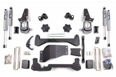 "BDS Suspension - 4-1/2"" Suspension Lift Kit (FOX Shocks) - 01-10 Chevy/GMC HD 4WD"