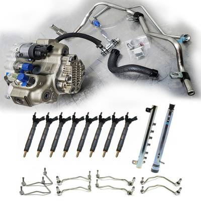 Performance Diesel Parts - Full CP4 to CP3 Conversion Kit (50 State CARB) - 2011-2016 GM 6.6L LML Duramax