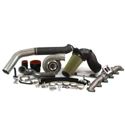 Industrial Injection - Industrial Injection -  S467.7 (Race Cover) Cummins 6.7L 2nd Gen Turbo Swap Kit (2010-2012)