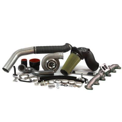Industrial Injection - Industrial Injection -  S475 with 1.00 Turbine A/R - Cummins 6.7L Turbo Kit (2010-2012)