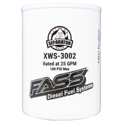 FASS Fuel Air Separation Systems - FASS Fuel Systems XWS-3002 Extreme Water Separator
