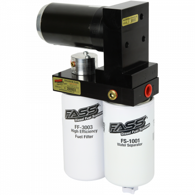 FASS Fuel Air Separation Systems - FASS Titanium Signature Series 165gph - 01-10 Duramax