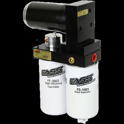 FASS Fuel Air Separation Systems - FASS TSD02165G Titanium Signature Series Fuel Lift Pump 165GPH - 1989-1993 Dodge Cummins