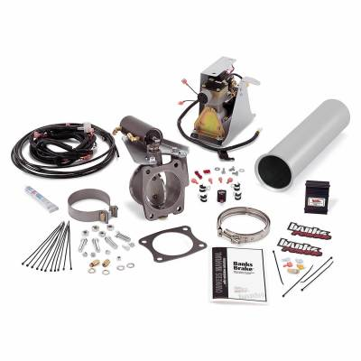 Banks Engineering - Banks - Brake Exhaust Braking System 01-04 Chevy 6.6 Banks Exhaust