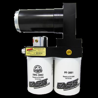 FASS Fuel Air Separation Systems - FASS Titanium Signature Series 125gph - 17-19 L5P Duramax