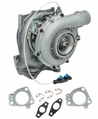 PurePower Technologies - Stock Turbocharger - 2004.5-2005 GM 6.6L LLY Duramax