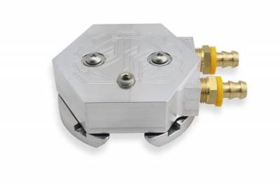 Deviant Race Parts - Deviant 60207 Return Fuel Tank Sump - Silver