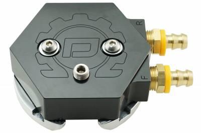 Deviant Race Parts - Deviant 60208 Return Fuel Tank Sump - Black