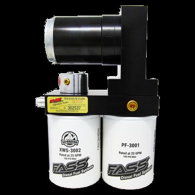 FASS Fuel Air Separation Systems - FASS TSD02100G Titanium Signature Series Fuel Lift Pump 100GPH - 1989-1993 Dodge Cummins