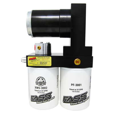 FASS Fuel Air Separation Systems - FASS TSD08100G Titanium Signature Series Fuel Lift Pump 100GPH - 1998.5-2004 Dodge Cummins 5.9L