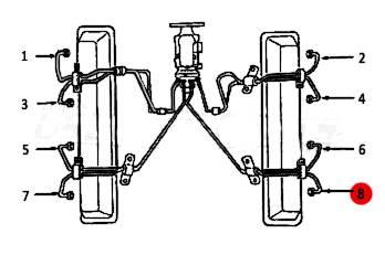 Dipaco - #8 Fuel Injection Line 6.2L 6.5L Mechanical