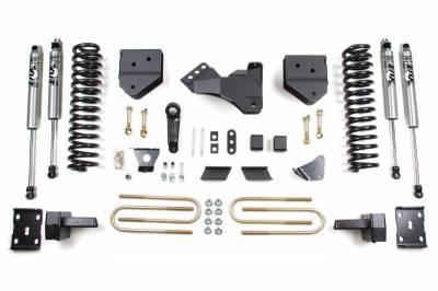 "BDS Suspension - 4"" Suspension Lift Kit - 2011-2016 Ford F250 / F350 4WD Diesel"