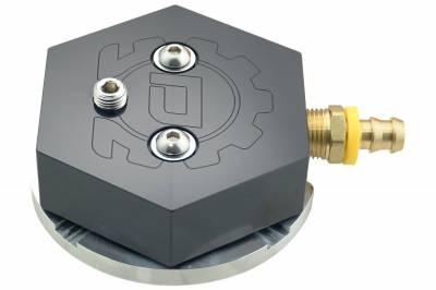 Deviant Race Parts - Deviant 60203 Fuel Tank Sump - Black