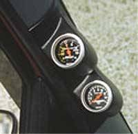 Auto Meter Gauges - Pillar Mount - Dual Pod, E-Van