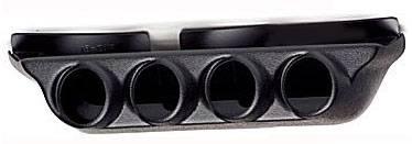 "Auto Meter Gauges - 2-1/16"" QUAD OVERHEAD CONSOLE 2000-2004 CHEVY/GM TRUCK"