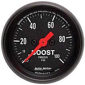 Auto Meter Gauges - Auto Meter Z-Series Boost Gauge