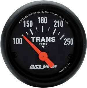 Auto Meter Gauges - Auto Meter Z Series Trans Temp Gauge