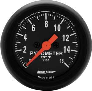Auto Meter Gauges - Auto Meter Z Series Pyrometer
