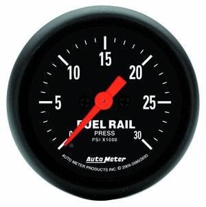 Auto Meter Gauges - Auto Meter Z-Series Diesel Fuel Rail Pressure