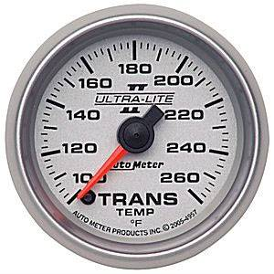 Auto Meter Gauges - Auto Meter Ultra-Lite II Trans. Temp
