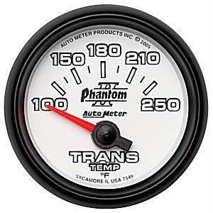 Auto Meter Gauges - Auto Meter Phantom II Transmission Temp